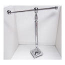 Countertop towel holder showerrods for Polished chrome bathroom countertop accessories