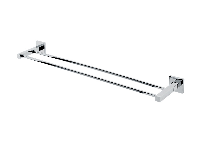 A8425 30 Pc Contemporary Ii Double Towel Bar Polished Chrome