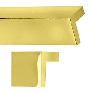 square tab pulls polished brass showerrods etc com