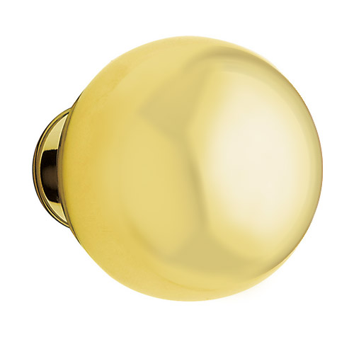 baldwin hardware door knob polished brass