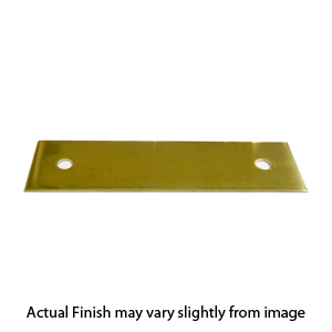 Superieur Baldwin Polish Brass Pull Backplate