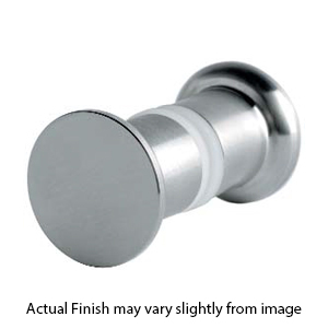 Glass Shower Door Knob - Brushed Stainless Steel