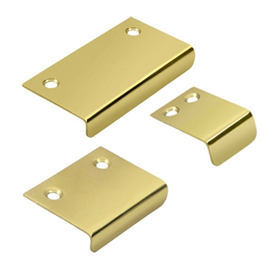 Angle Tab Pulls Lifetime Brass Showerrods Etc Com