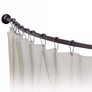 Custom Shower Rods From Showerrods Etc That Accommodates For All Of Your Bathroom Fixtures