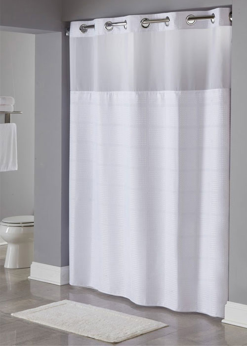 Alexandria - RePET Hookless Shower Curtain