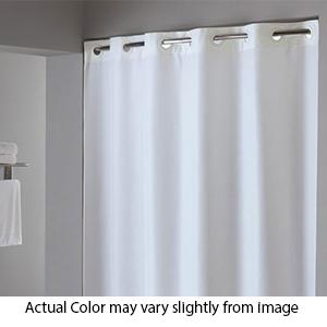 ADA Plain Shower Curtain