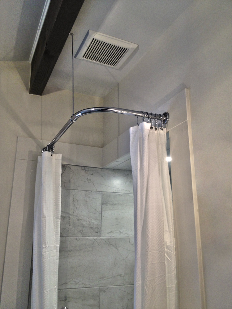Merveilleux Shower Rods