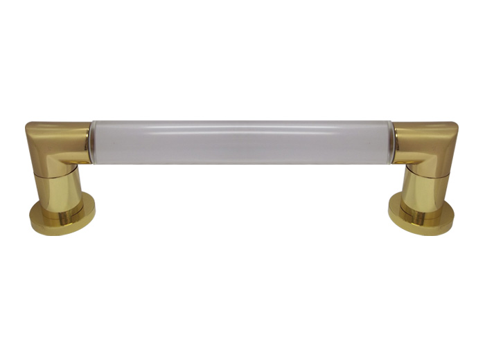 jado jetline 18 grab bar polished brass. Black Bedroom Furniture Sets. Home Design Ideas