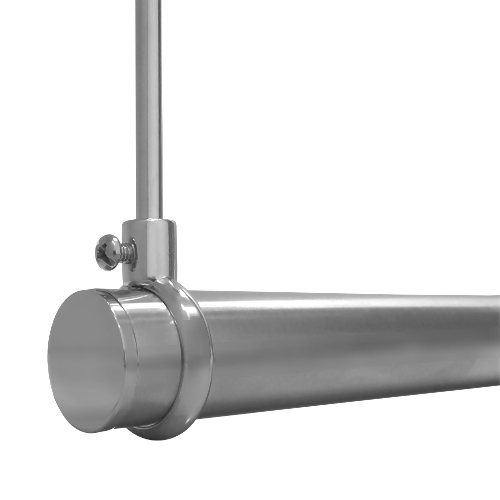 Suspended Shower Rod - Wall to Ceiling