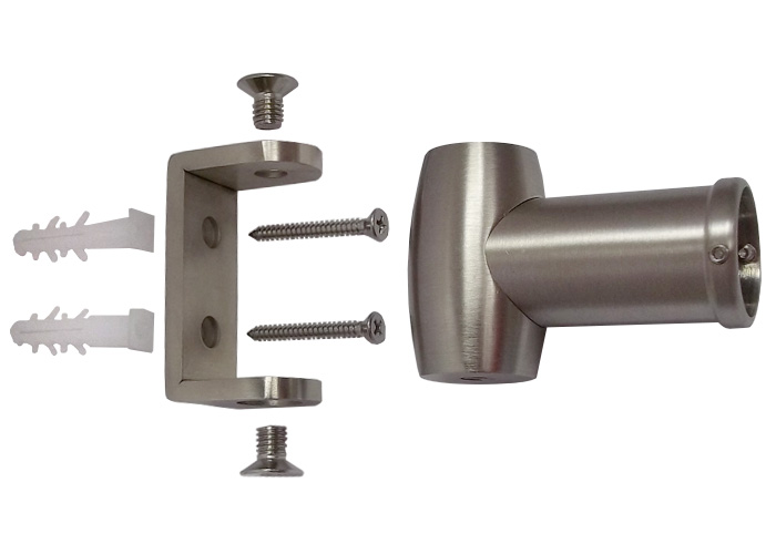 Curved Shower Rod - Decorative Finishes