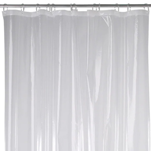 144 W X 72 L Heavy Duty Shower Curtain Liner