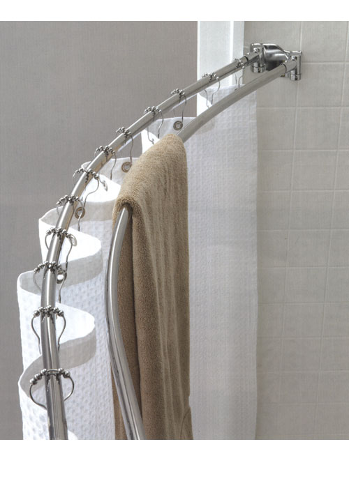 Custom Shower Rods 28 Images Carlton Shower Curtain White 72 Quot X 96 Quot Curved Shower